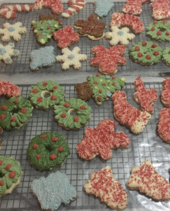 dairy-free frosted gluten-free sugar cookies